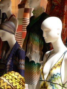 Amazing fabrics as well as patterns