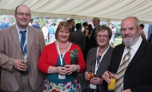Me and Paul with Sue & Mick Cox from Link2Create