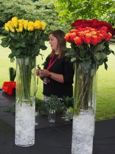 Capel Manor College floristry expertise on display